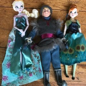 Disney frozen fever dolls